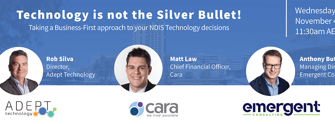Webinar: Technology is not the Silver Bullet!